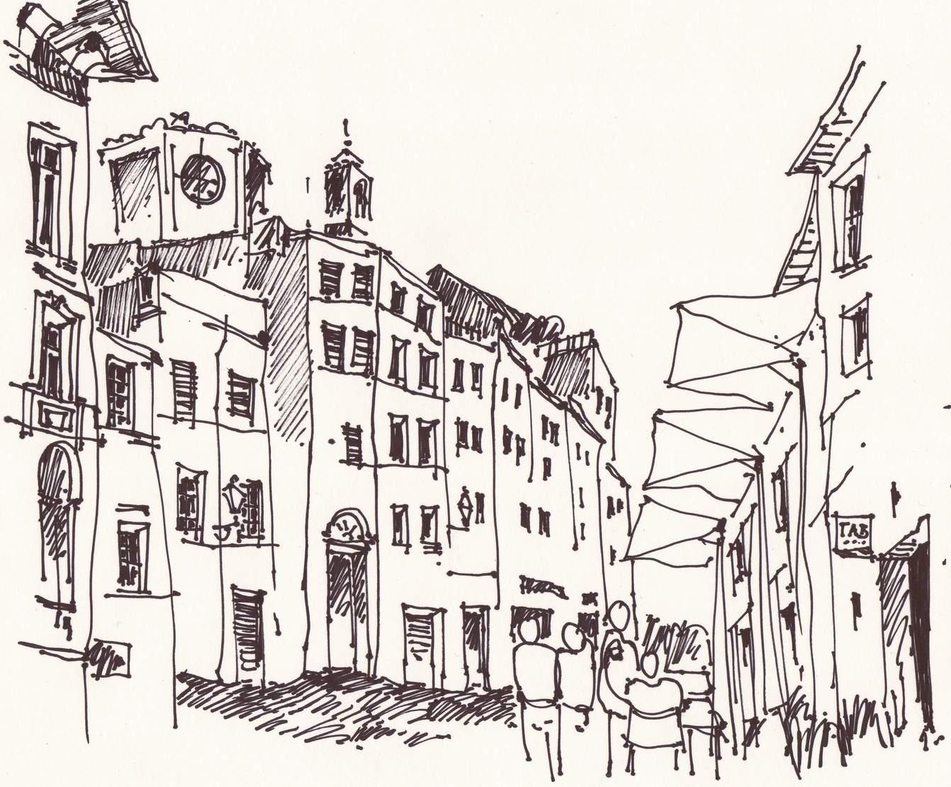 Architektur skizzen arch blog - Architektur skizzen zeichnen ...