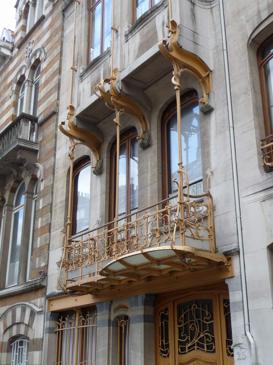 Fassadengestaltung stein  Architektur-Erkundungen in Brüssel | ARCH BLOG