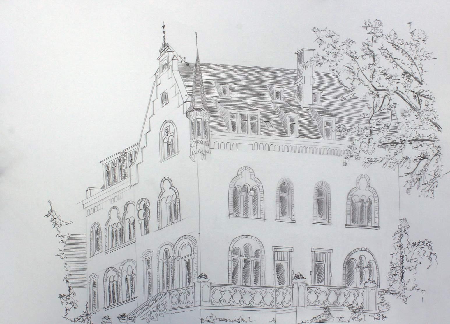 Zeichnen an der untermosel arch blog for Koch zeichnen