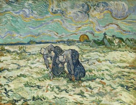 Die Grabenden, 1890