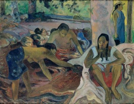 """""""Pˆcheuses tahitiennes"""" / """"Tahitianische Fischerinnen"""""""