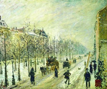 06_Camille Pissarro, Les Boulevards