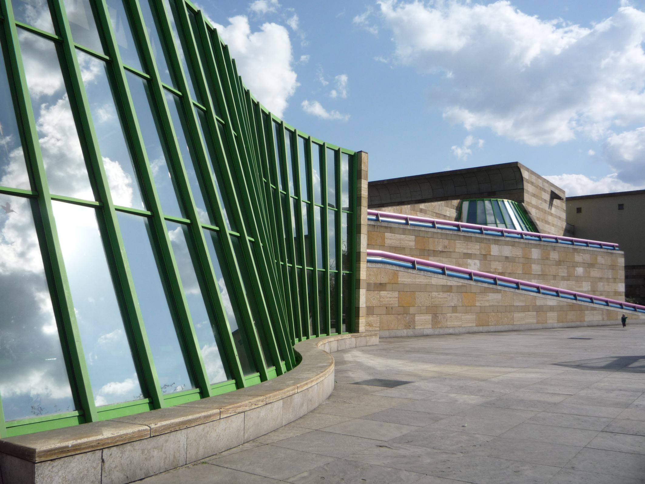 Stirling bau in stuttgart arch blog - Postmoderne architektur ...