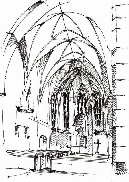 Klosterkirche auf Niederwerth