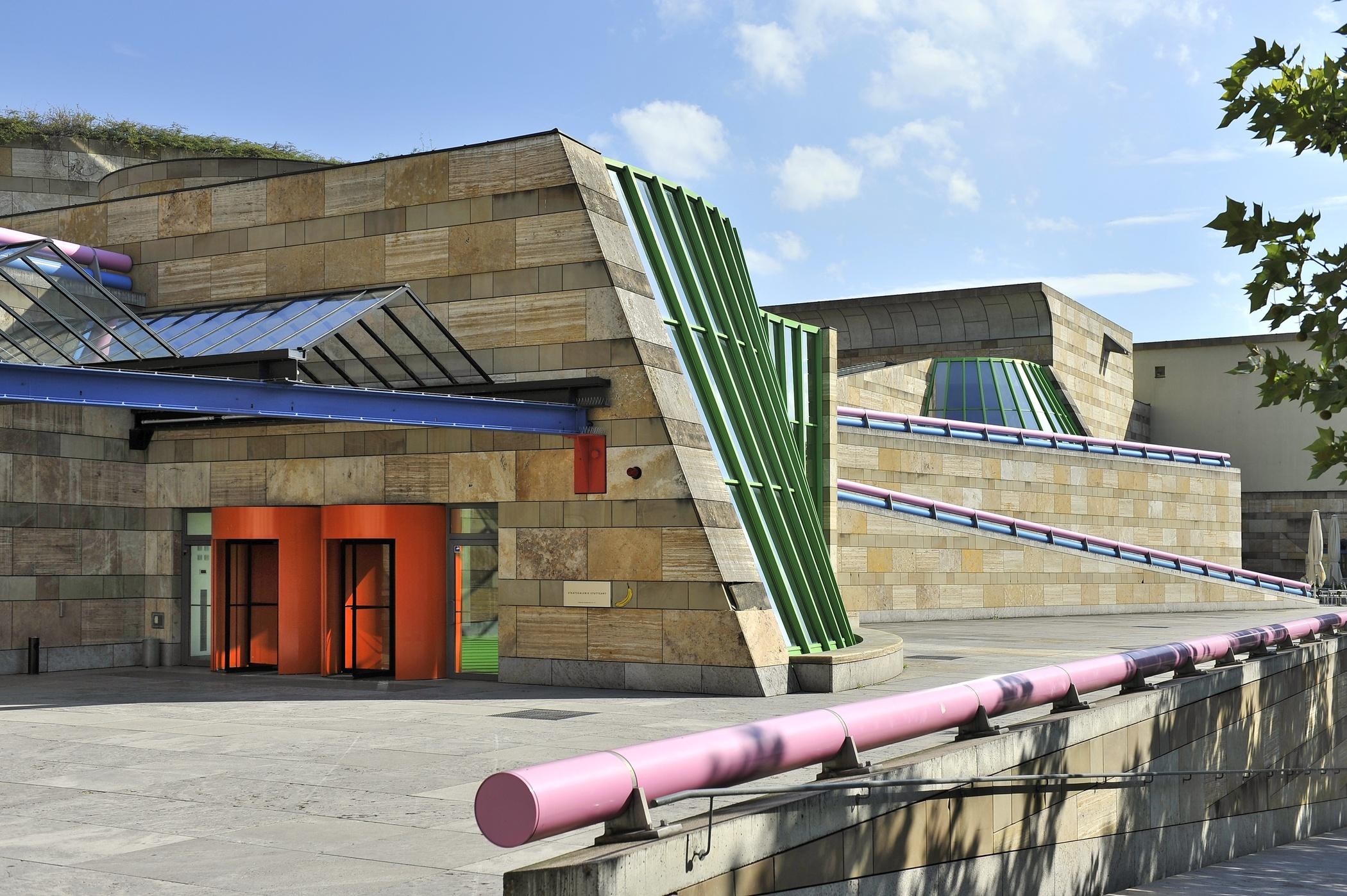 Because i like it james stirling arch blog - Postmoderne architektur ...